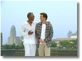 freeman, movies, carrey, bruce almighty, photograph