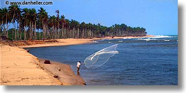 africa, benin, fishing, horizontal, nets, panoramic, photograph