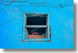 africa, al kab, blues, egypt, horizontal, toys, trucks, villages, windows, photograph