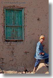 africa, al kab, childrens, egypt, green, vertical, villages, windows, photograph