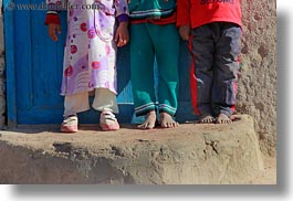 africa, al kab, childrens, egypt, feet, horizontal, villages, photograph
