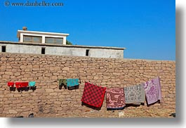 africa, al kab, egypt, hangings, horizontal, laundry, villages, photograph