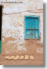 africa, al kab, bread, egypt, pita, vertical, villages, windows, photograph