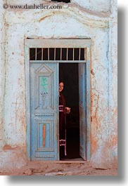 africa, al kab, doorways, egypt, vertical, villages, womens, photograph