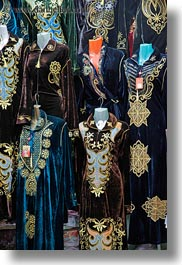 africa, aswan, dresses, egypt, hangings, vertical, photograph