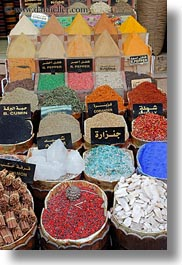 africa, aswan, display, egypt, spices, vertical, photograph