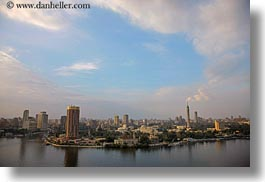 africa, cairo, cityscapes, clouds, egypt, horizontal, nature, nile, sky, photograph