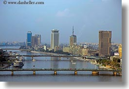 africa, bridge, cairo, cityscapes, egypt, horizontal, nature, nile, sky, photograph