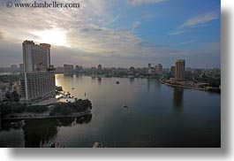 africa, cairo, cityscapes, clouds, egypt, horizontal, nature, nile, sky, sunsets, photograph