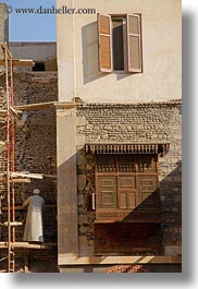africa, arab, arabic, cairo, coptic, egypt, scaffolding, style, vertical, photograph