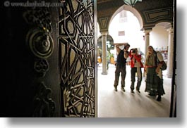 africa, arabic, cairo, coptic, design, doors, egypt, horizontal, people, style, photograph