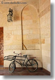 africa, bicycles, cairo, coptic, egypt, vertical, photograph