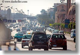 africa, cairo, congestion, egypt, horizontal, traffic, photograph