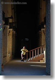 africa, barquk mosque, cairo, cell phone, egypt, men, mosques, muslim, religious, stairs, vertical, photograph