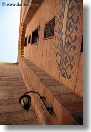 africa, cairo, egypt, hangings, kalawoun mosque, lamps, mosques, vertical, photograph