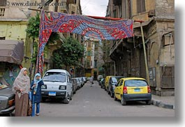 africa, arabic, banners, cairo, egypt, horizontal, old town, streets, style, photograph