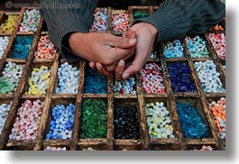 africa, beads, cairo, colorful, egypt, hands, horizontal, old town, photograph
