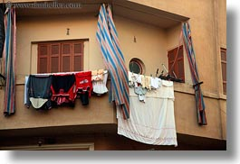 africa, cairo, egypt, hangings, horizontal, laundry, old town, photograph