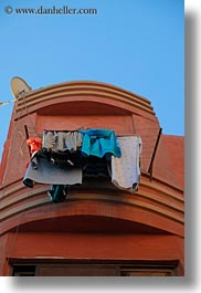 africa, cairo, egypt, hangings, laundry, old town, vertical, photograph