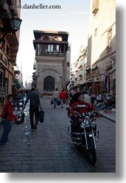 africa, cairo, egypt, narrow, old town, streets, vertical, photograph