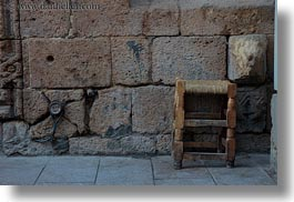 africa, cairo, chairs, egypt, horizontal, old, old town, woods, photograph