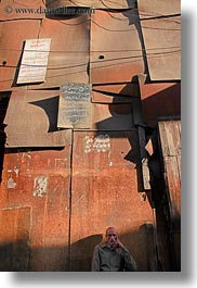 africa, cairo, egypt, illuminated, old town, panels, shadily, vertical, photograph