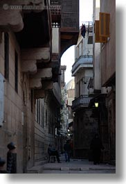 africa, apartments, cairo, egypt, old town, vertical, yellow, photograph