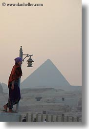 africa, cairo, egypt, girls, lamps, people, pyramids, vertical, photograph