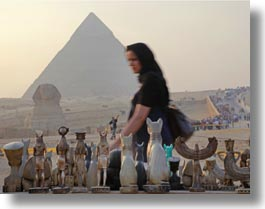 africa, cairo, egypt, gifts, horizontal, people, pyramids, structures, womens, photograph