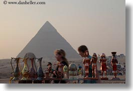 africa, cairo, egypt, gifts, horizontal, pyramids, structures, photograph