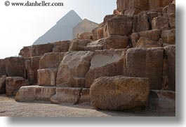 africa, blocks, cairo, egypt, horizontal, pyramids, structures, photograph