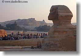 africa, cairo, crowds, egypt, horizontal, sphinx, photograph