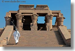 africa, egypt, egyptian, horizontal, kom ombo temple, stairs, photograph
