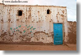 africa, blues, doors, egypt, horizontal, nubian village, photograph