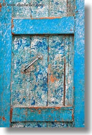 africa, blues, doors, egypt, nubian village, vertical, photograph