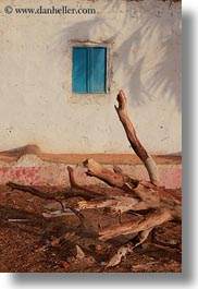 africa, blues, dead, egypt, nubian village, trees, vertical, windows, photograph