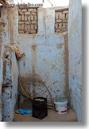 africa, egypt, nubian village, pots, slow exposure, vertical, walls, wash, white, photograph