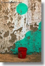 africa, buecket, egypt, nubian village, red, vertical, photograph