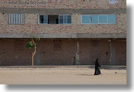 africa, egypt, horizontal, nubian village, trees, womens, photograph