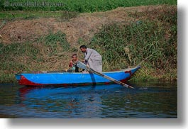 africa, boats, egypt, fathers, horizontal, people, sons, photograph