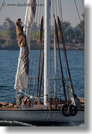 africa, climbing, egypt, mast, men, people, vertical, photograph