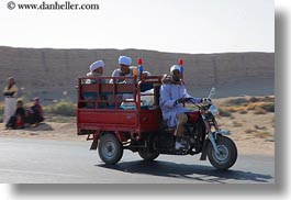 africa, egypt, horizontal, men, motorcycles, people, photograph