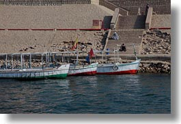 africa, boats, docked, egypt, horizontal, rivers, photograph