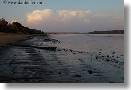 africa, bank, beaches, clouds, egypt, horizontal, rivers, photograph