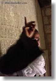 africa, egypt, men, pointing, titi, tombs, vertical, photograph