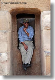 africa, ahmed, baseball cap, clothes, egypt, hats, kom, ombu, people, sunglasses, temples, tour guides, vertical, wt people, photograph