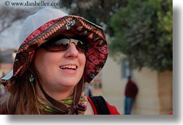 africa, carla, carla henry, clothes, egypt, emotions, hats, horizontal, people, smiles, sunglasses, tourists, wt people, photograph