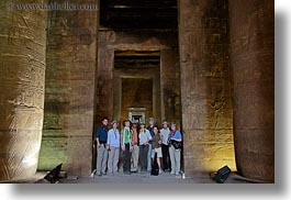africa, edfu, egypt, groups, horizontal, shot, temples, wt people, photograph