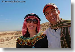 africa, clothes, egypt, emotions, horizontal, keffiyeh, men, scarves, smiles, vicky, victoria gurthrie, wt people, photograph