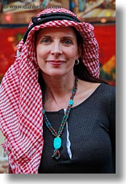 africa, clothes, egypt, emotions, keffiyeh, red, scarves, smiles, vertical, vicky, victoria gurthrie, wt people, photograph